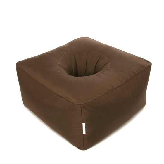 bean bag sit on it peanut brown. Black Bedroom Furniture Sets. Home Design Ideas