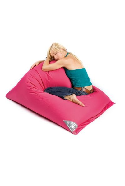 bean bag sit on it tryangle xl funky fuchsia. Black Bedroom Furniture Sets. Home Design Ideas