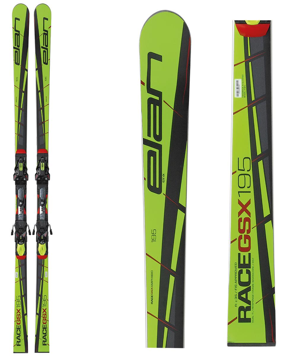 Elan giant slalom World Cup Race GSX FIS Plate skis 2017