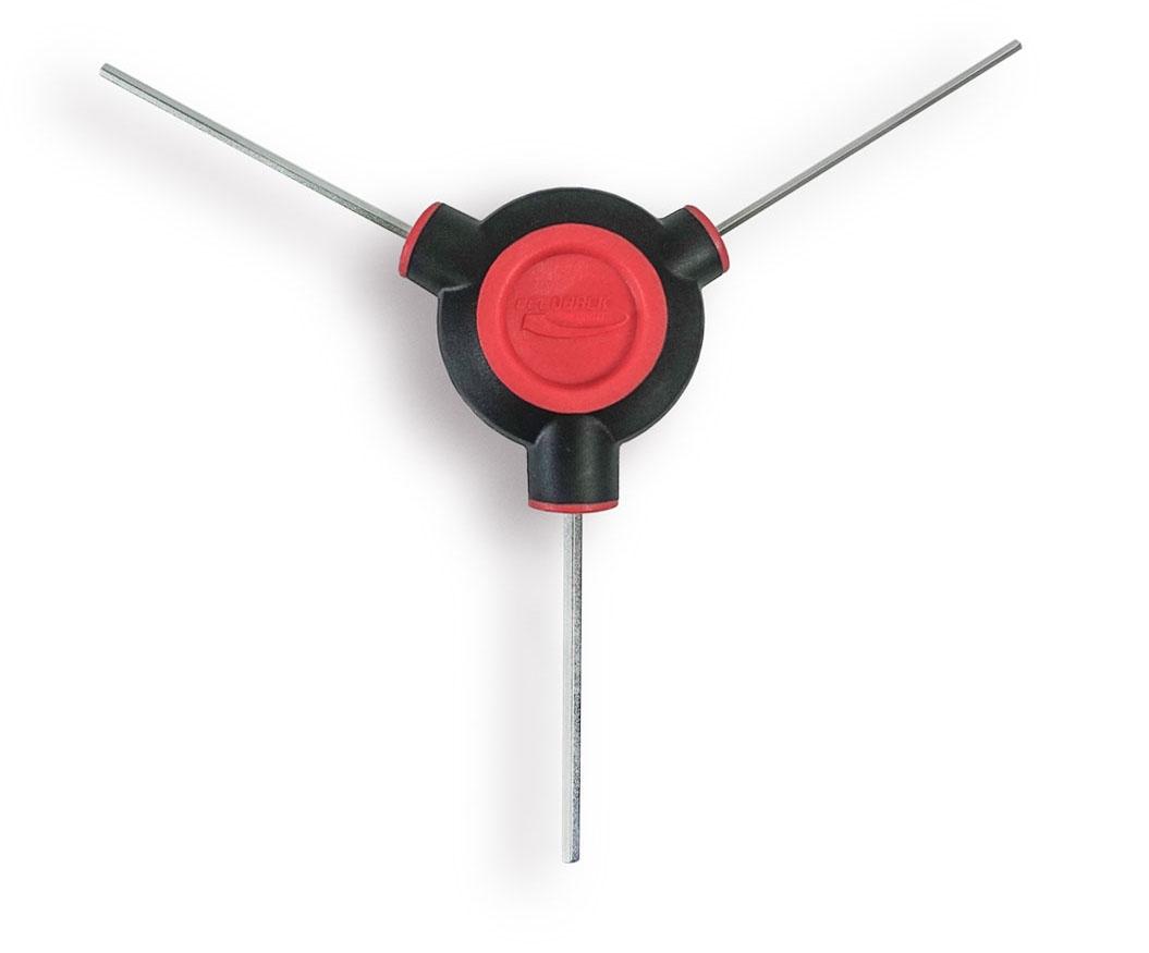 3 mm Hex Feedback Sports T-Poignée